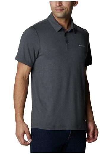 Columbia Columbia Erkek Siyah Utilizer Polo YakaT-Shirt Siyah